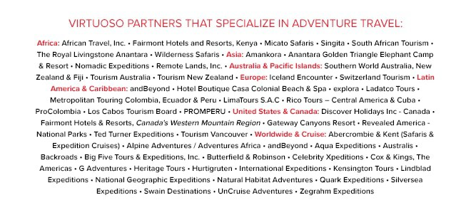 Virtuoso Participating Partners