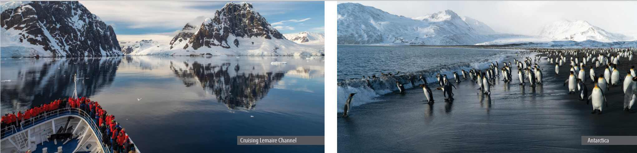 SILVERSEA: cursing Lemaire Channel and ANTARCTICA