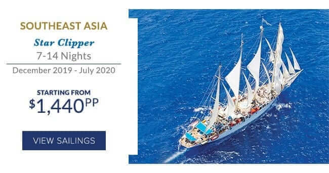 Star Clipper, 7-14 nights, December 2019 to August 2020, Southeast Asia