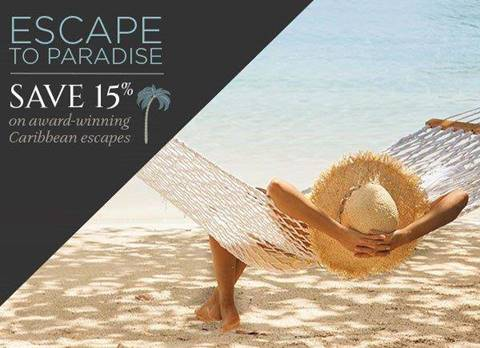 Regent - Escape to Paradise - Save 15% on award-wining Caribbean escapes