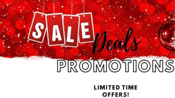 Sale, Deals, Promotions, Limited Time Offers