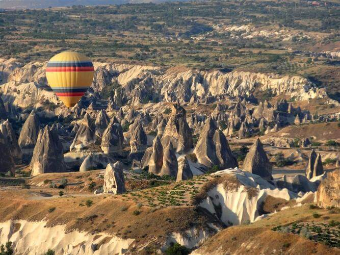 Blue Parallel: Ballooning over Cappadocia