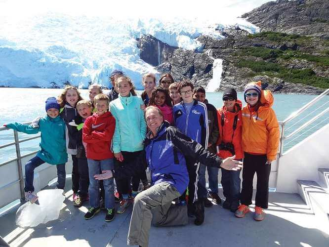 TAUCK Family River Cruises - Glacier cruise kids