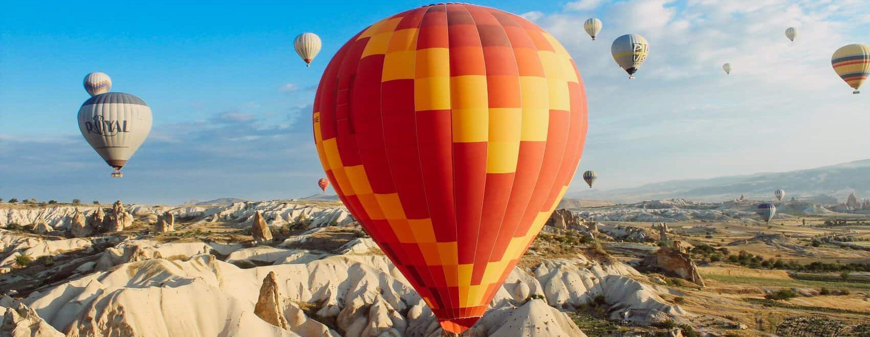 the best deals on Hot Air Ballooning in Cappadocia Turkey