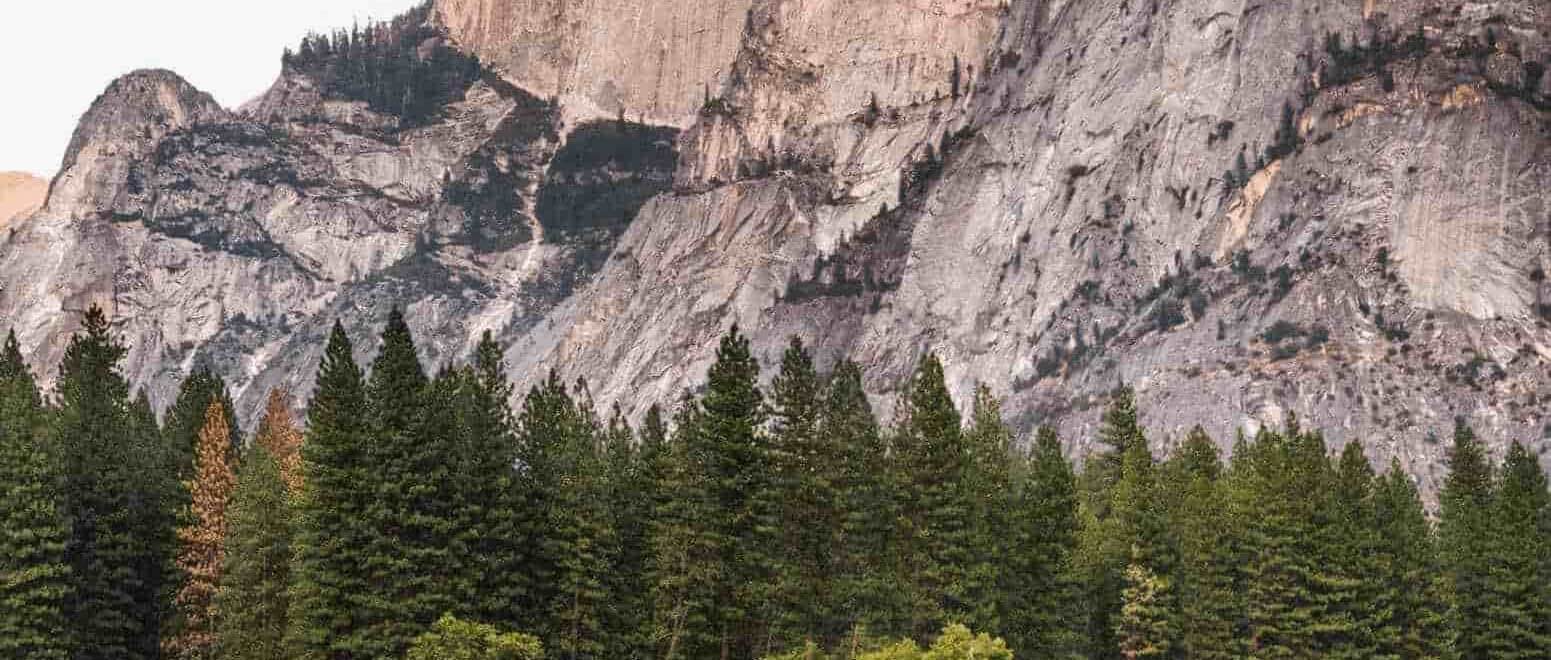 Yosemite And The Marble Mountains