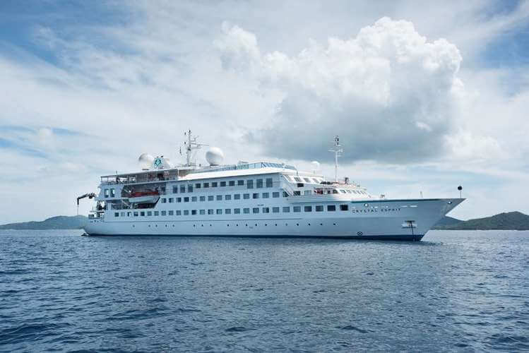 Crystal Esprit ship of Crystal Cruises