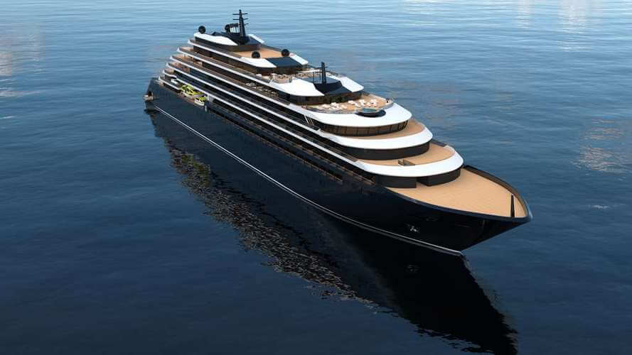 Evrima ship of The Ritz-Carlton Yacht Collection