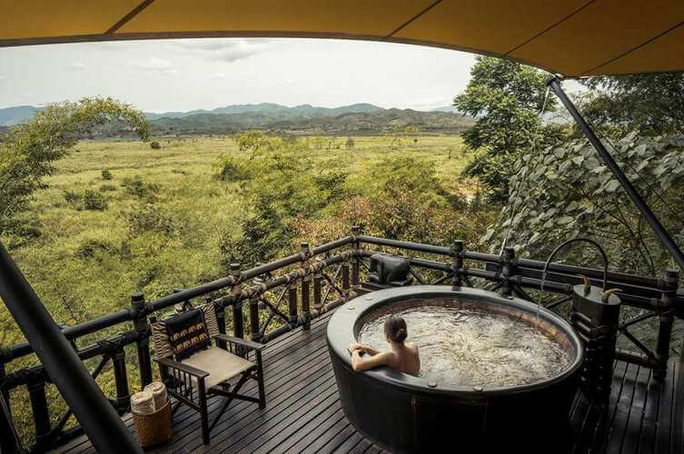 Four Seasons Tented Camp in Chiang Rai Thailand - Deluxe Tent