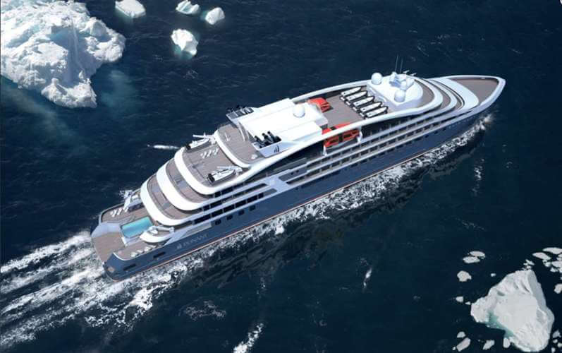 Le Champlain Ship of PONANT Yacht Cruises & Expeditions