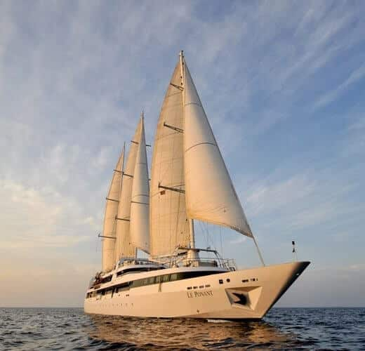 Le Ponant Ship of PONANT Yacht Cruises & Expeditions