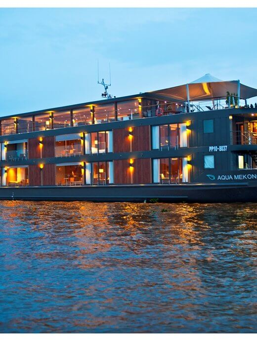 Aqua Expeditions Cruises - Aqua Mekong