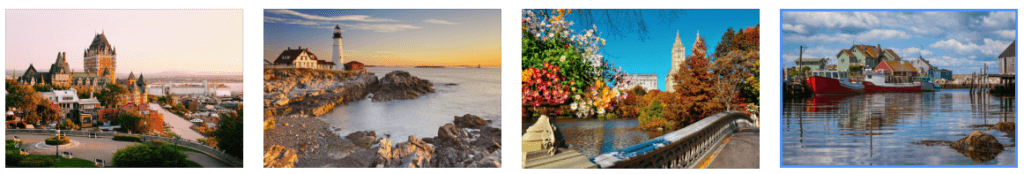 THE RITZ-CARLTON YACHT COLLECTION - CANADA AND NEW ENGLAND