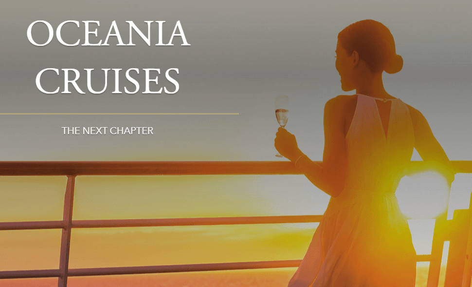 Oceania Cruises - The Next Chapter