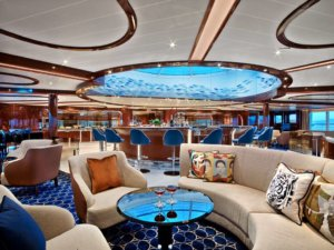 Seabourn - Bar Lounge - Promotions + Virtuoso Voyages; And remember: it's Yachting, not cruising®