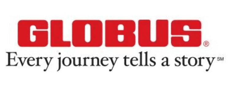 GLOBUS Logo - Every journey tells a story