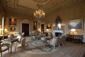 The Gold Drawing Room at Ballyfin