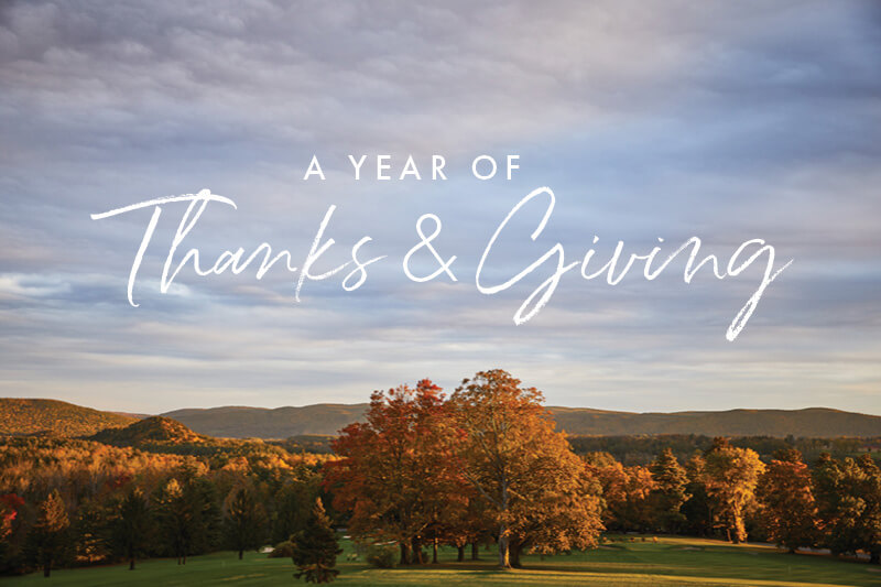 Miraval Resort & Spa - A Year of Thanks Giving