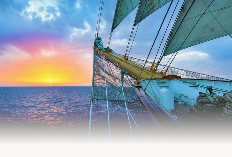 Star Clippers Sailing the Sunset