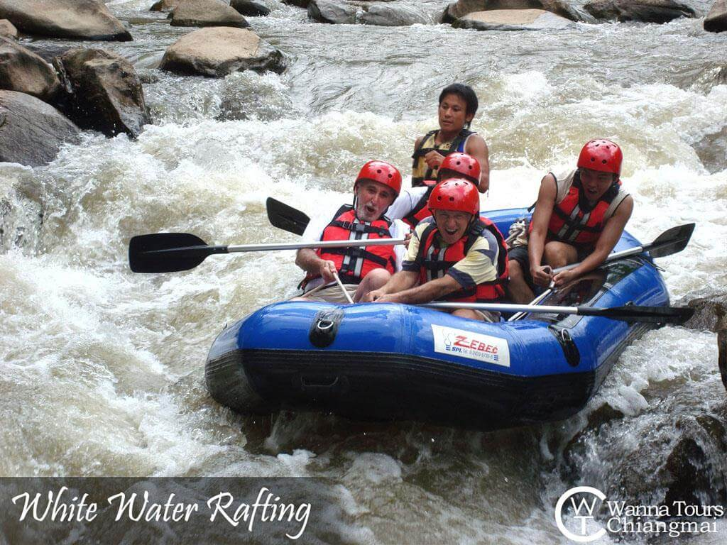 Wanna Tours Thailand - White-Water Rafting Chiangmai