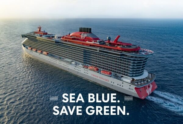 Virgin Voyages - Sea Blue Save Green