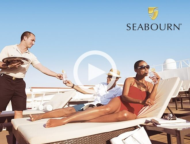Seabourn Cruises - use a little R&R