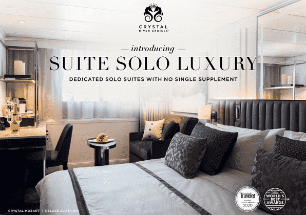 Crystal Cruises - Suite Solo Luxury