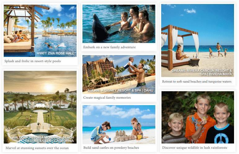 JOURNESE Pleasant Holidays - Family Incentives