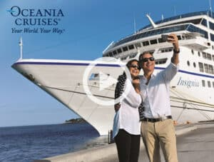 Oceania Cruises' OLife Choice package for couples