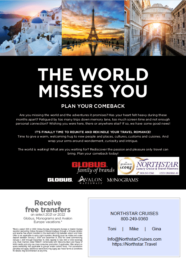 GLOBUS Family of brands - The World Misses You