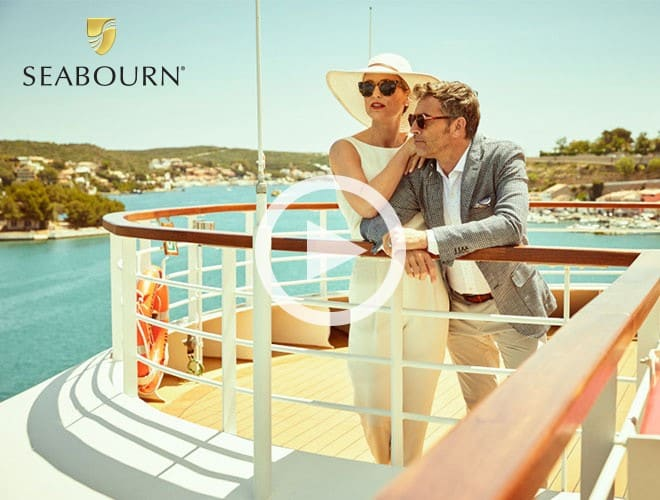 Seabourn - Exclusive perks in ports from Sitka to Santorini